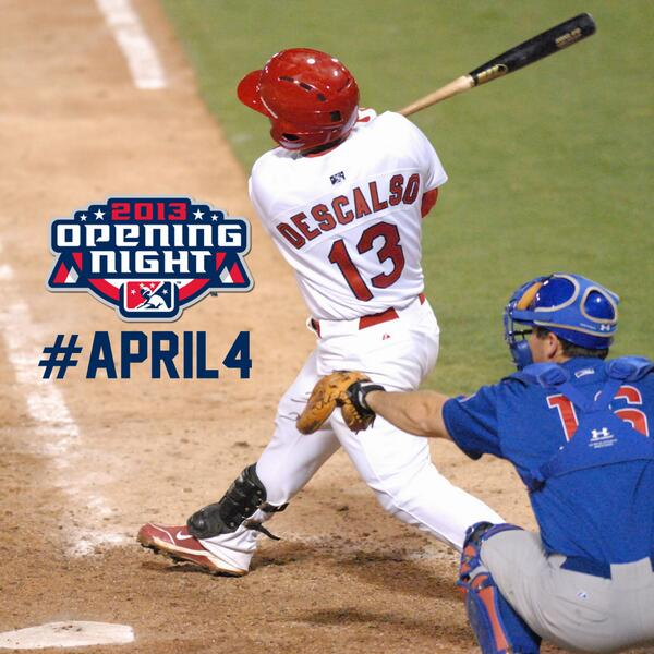 13 Days Until Redbirds Opening Night