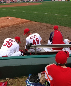 Former Redbirds pitching coach Blaise Ilsley