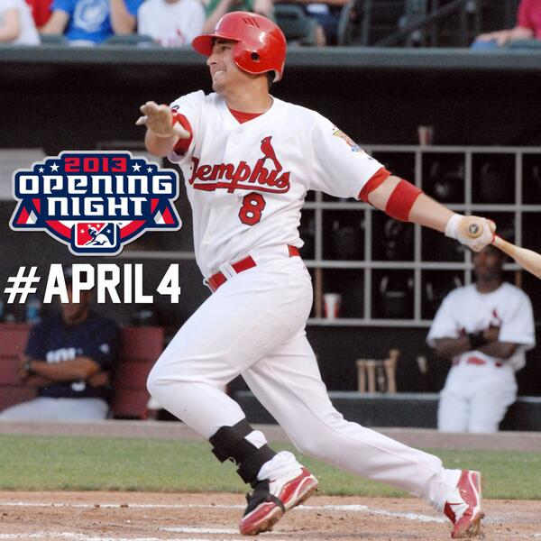 Eight Days Until Redbirds Opening Night