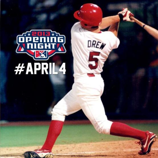 Five More Days Until Redbirds Opening Night