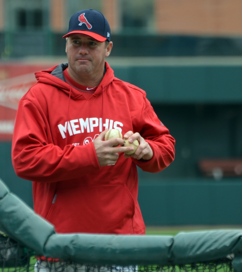 "Pitching Coach Bryan ""Gerdy"" Eversgerd"