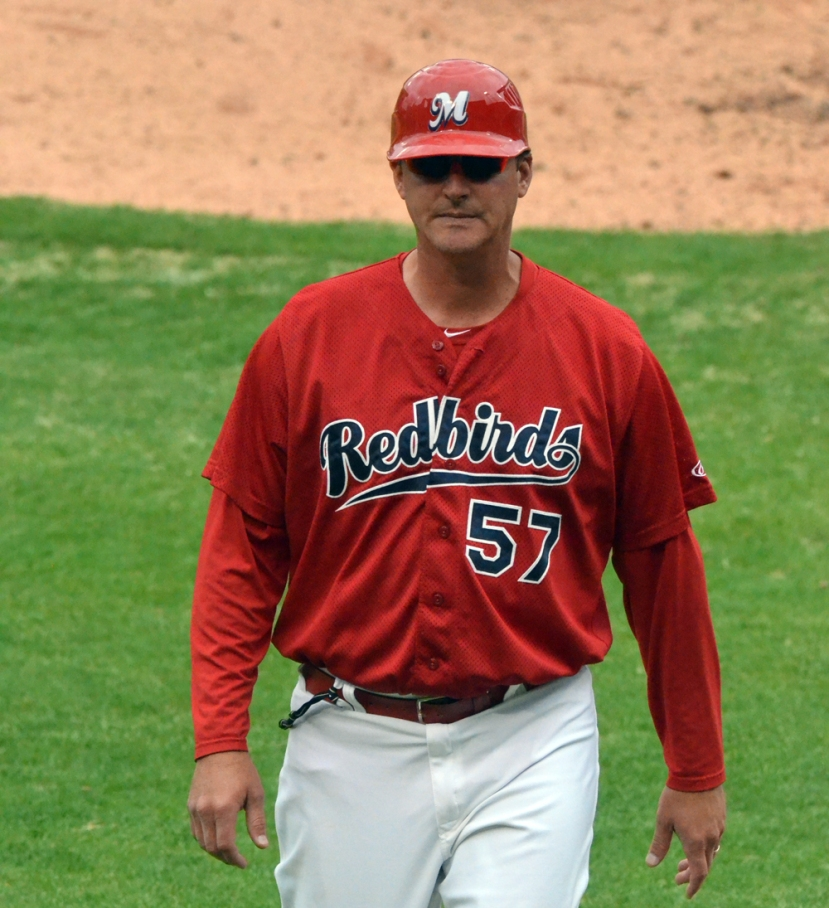 "Redbirds Manager Ron ""Pop"" Warner"